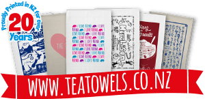 Teatowels.co.nz – New Zealand's Online Source of Screenprinted Tea Towels for Fundraising, Promotions and Advertising